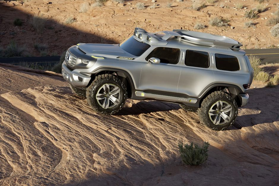 Mercedes-Benz Ener-G-Force Concept 3