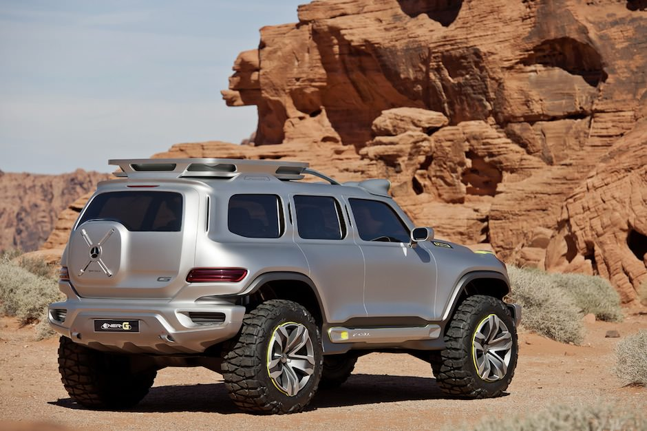 Mercedes-Benz Ener-G-Force Concept 5