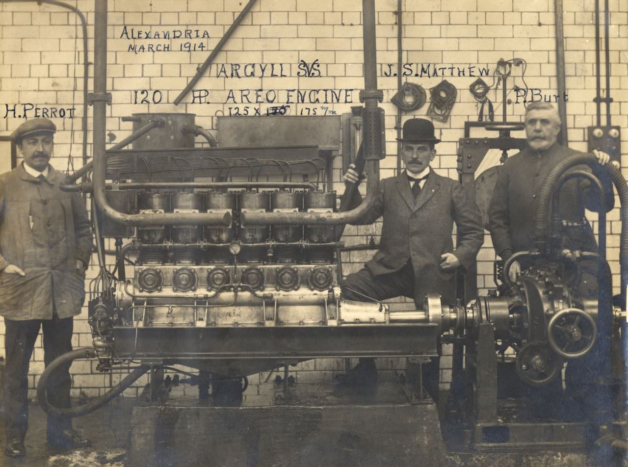 The 12.8 Litre Argyll Sleeve Valve Aero Engine