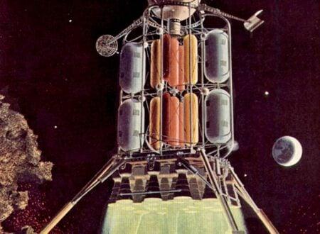 Von Brauns First Lunar Lander Design e1353648898919 450x330 - Von Braun's First Lunar Lander