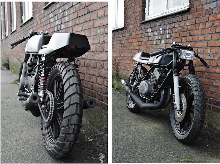 Yamaha RD 400 twin Yamaha RD 400 by The Wrenchmonkees