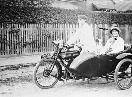 bsa motorcycle with sidecar 450x330 - BSA Afternoon