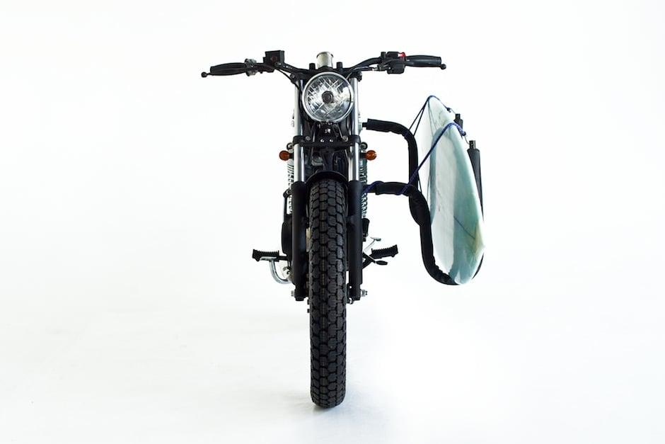 custom honda CB100 1