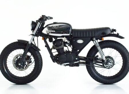 custom honda CB100