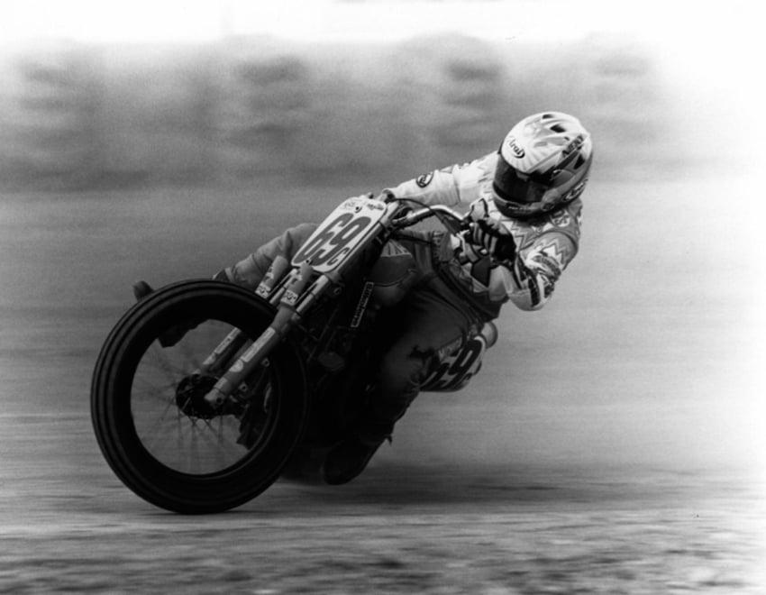 flat track motorcycle racing