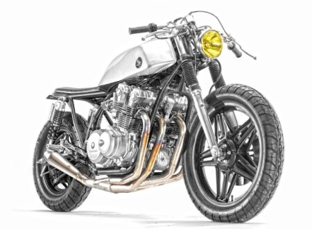 Honda CB750 Stainless By Steel Bent Customs