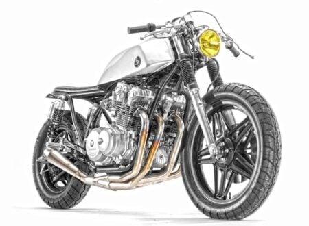 honda cb750 cafe racer 1 450x330 - Honda CB750 Stainless by Steel Bent Customs
