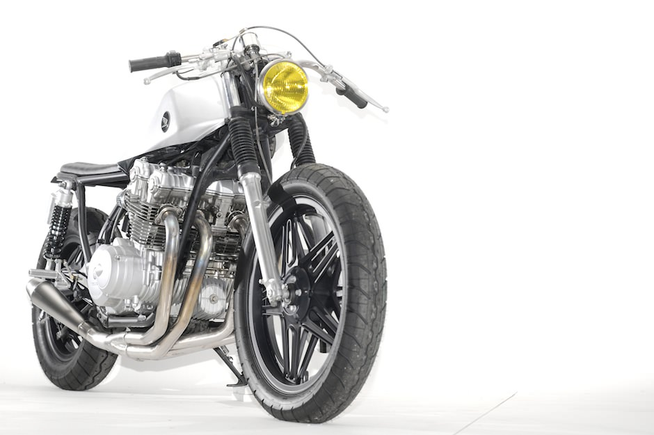 CAF   RACER 76  HONDA CB750 STAINLESS BY STEEL BENT CUSTOMS