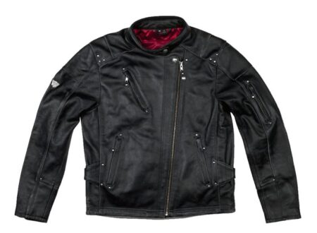 leather biker jacket 450x330 - Rocker Motorcycle Jacket by Roland Sands Design