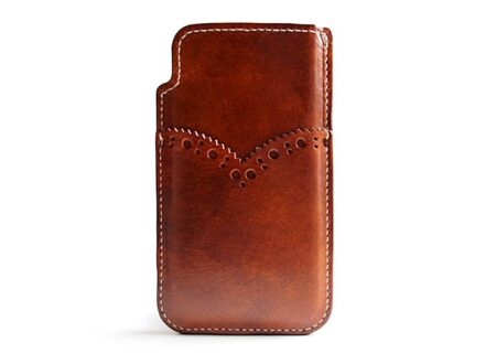 leather iphone case 450x330 - iPhone Sleeve by Eatsleeplay