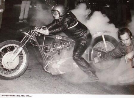 motorcycle drag racing 450x330 - Leo Payne Heats a Tire