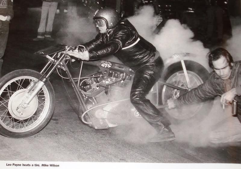 Leo Payne Heats A Tire Silodrome