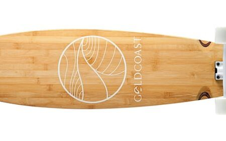 Gold Coast Skateboards 450x280 - Bamboo Longboard by Gold Coast Skateboards