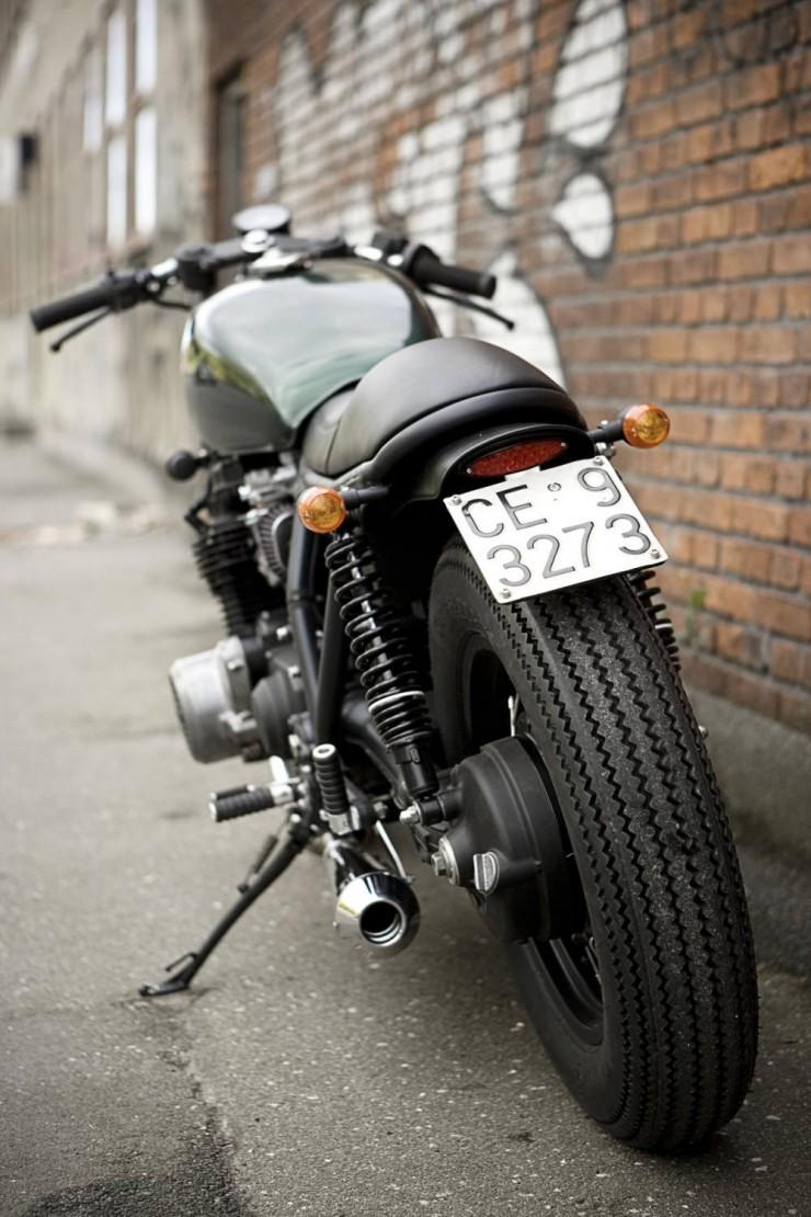 Kawasaki Z1000 ST motorcycle