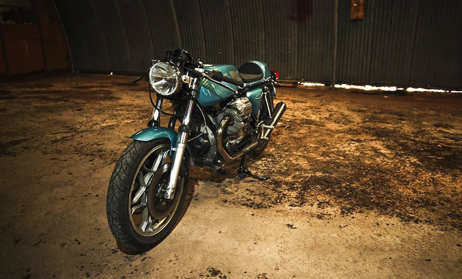 Moto Guzzi Le Mans Cafe Racer By Fcr