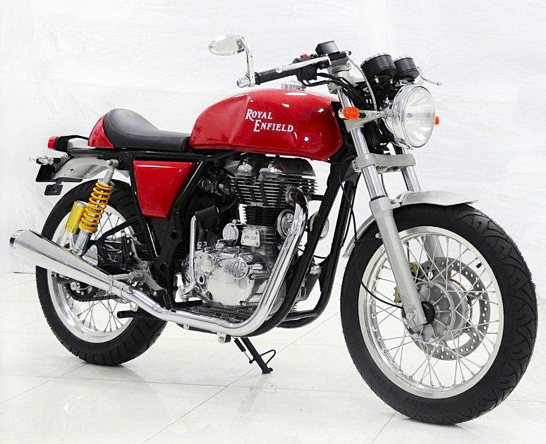 Royal Enfield 535 Cafe Racer1 Royal Enfield 535 Cafe Racer
