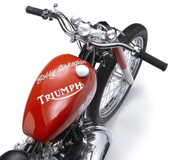 Triumph Thunderbird 650 Baby Mine Dragbike  2