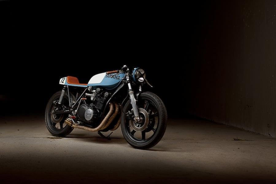 Yamaha XS750 Cafe Racer 1