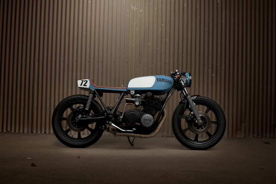 CAF   RACER 76  YAMAHA XS750 CAFE RACER BY UGLY MOTORBIKES