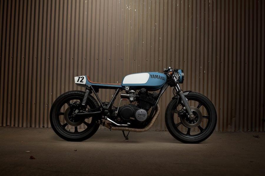 Yamaha XS750 Cafe Racer 2