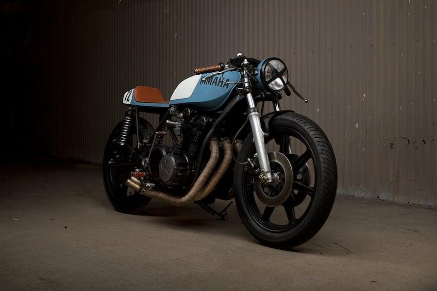 Yamaha XS750 Cafe Racer 5
