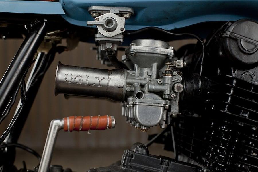 Yamaha XS750 Cafe Racer 6