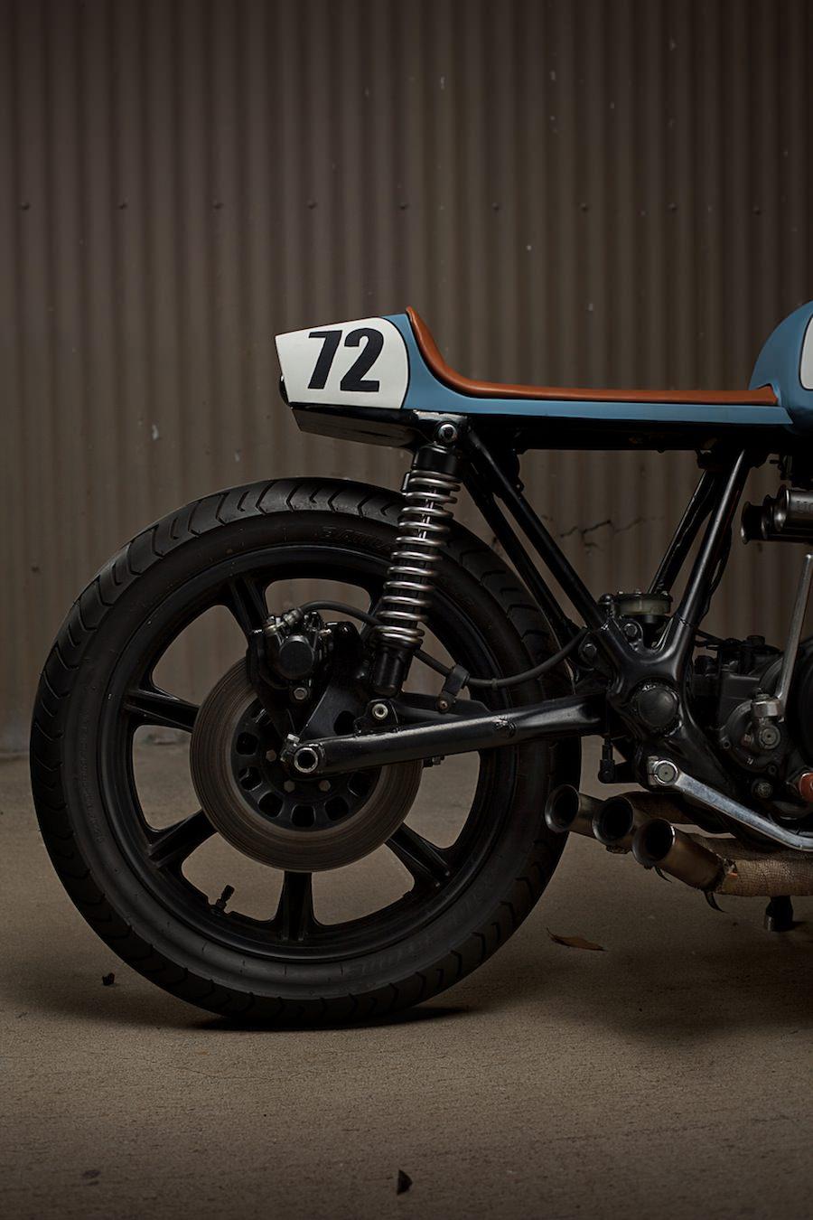 Yamaha XS750 Cafe Racer 9