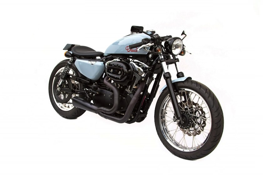 davidson sportster cafe racers Sportster Cafe Racer by Deus Ex Machina