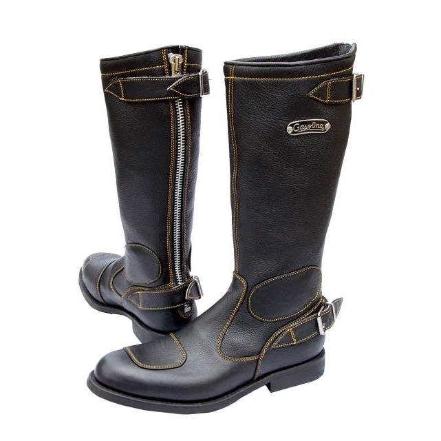 gasolina motorcycle boots