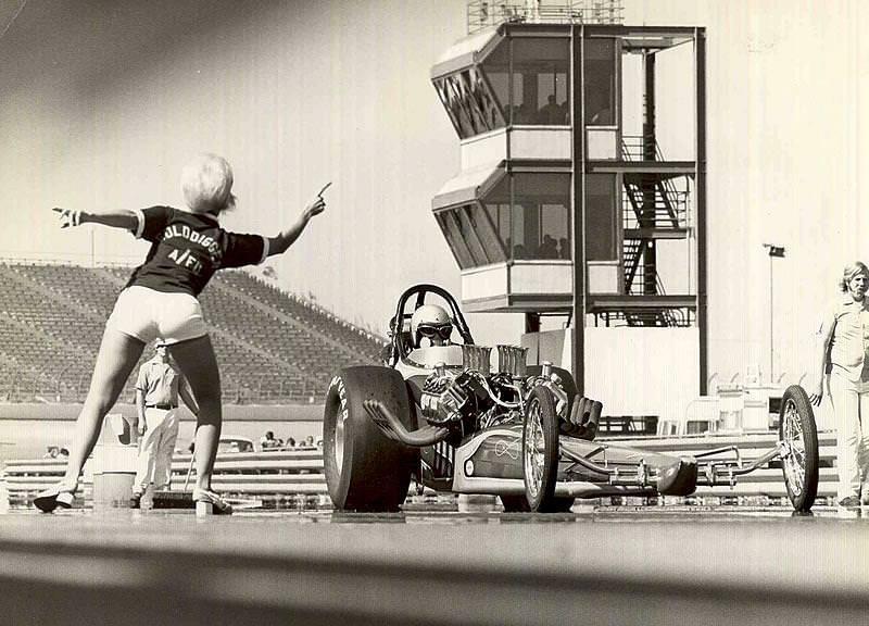 Golddigger Drag Racer