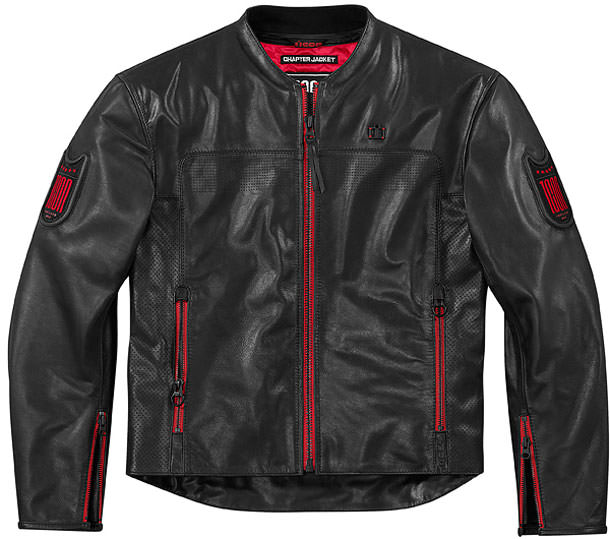 retro armoured motorcycle jacket
