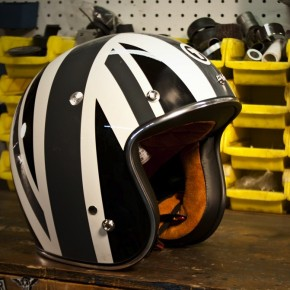 Grey Union Jack Helmet by Torc Helmets
