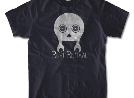 rust revival 450x330 - Skull Mechanic Tee
