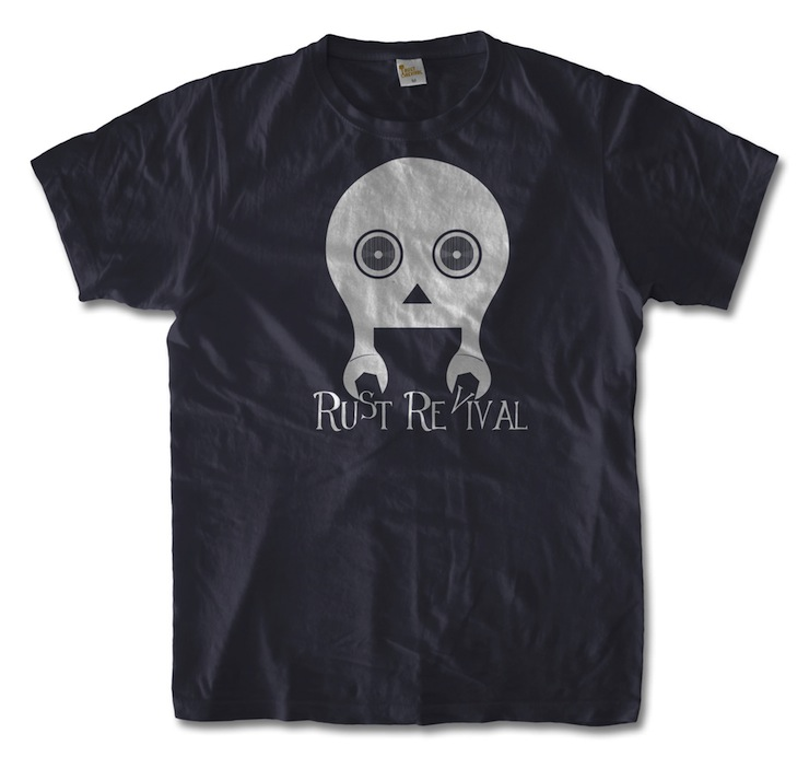 rust revival Skull Mechanic Tee