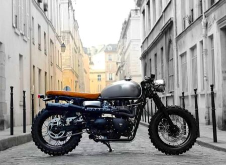 triumph cafe racer 7 450x330 - Cafe Tracker by Vintage Racers
