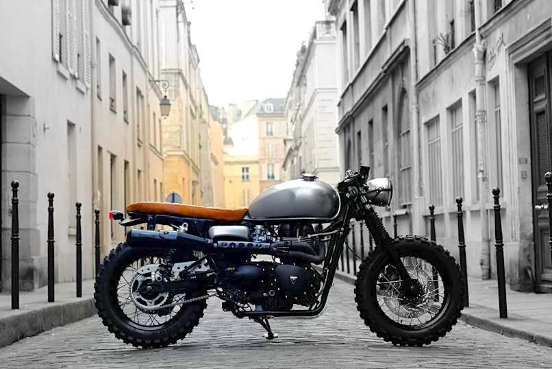 Triumph Cafe Racer >> Triumph Cafe Tracker By Vintage Racers