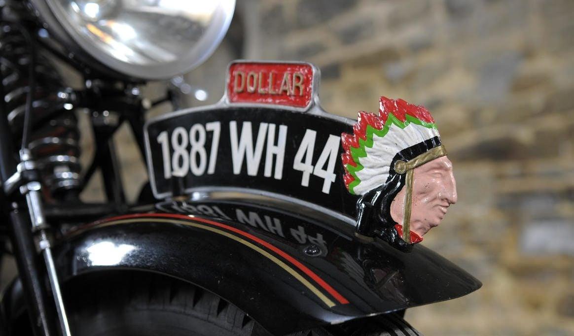 1930 Dollar 350cc S3 Bike