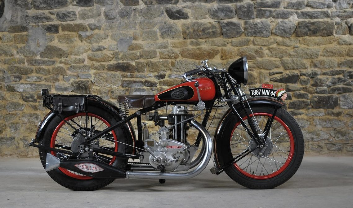 1930 Dollar 350cc S3 Motorcycle