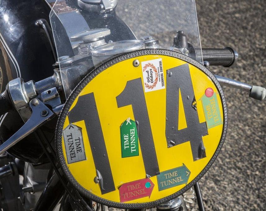 1954 BMW Rennsport RS54 Motorbike