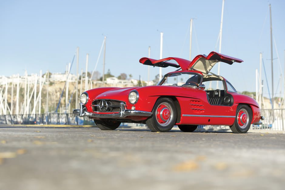 1955 Mercedes Benz 300SL Gullwing 2 1955 Mercedes Benz 300SL Gullwing