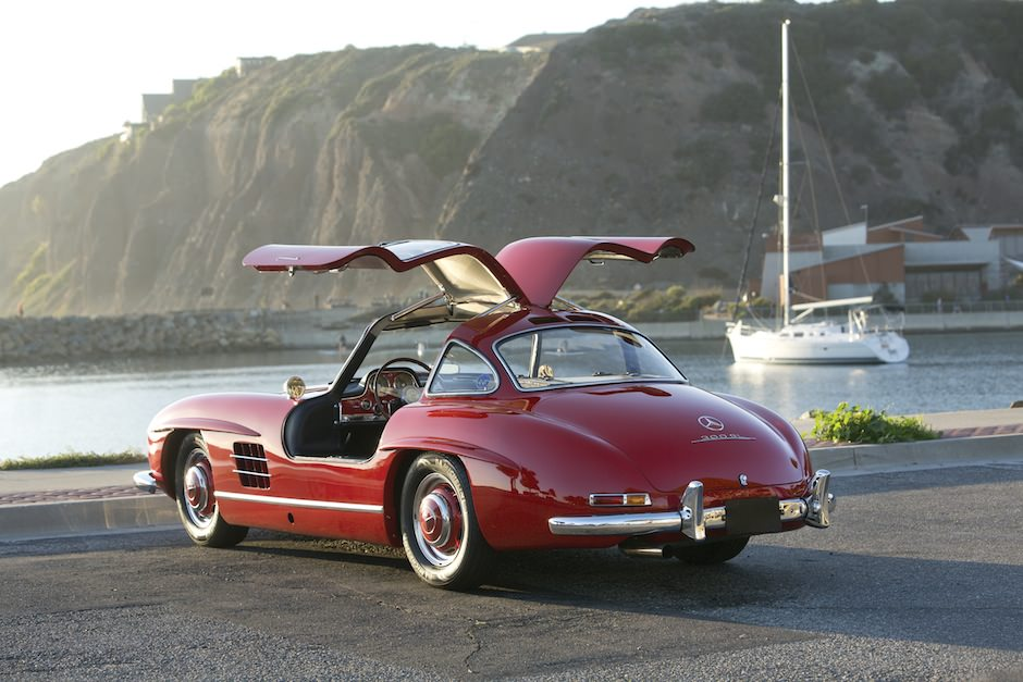 caf racer 76 1955 mercedes benz 300sl gullwing