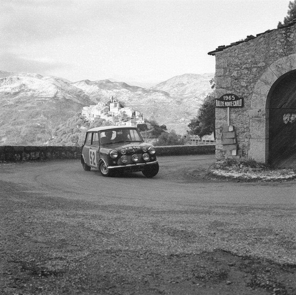 1964 Morris MiniCooperSWorksRally8 Monte Carlo Mini