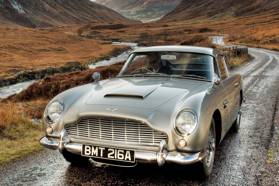 Aston Martin DB5 Highland Aston Martin DB5