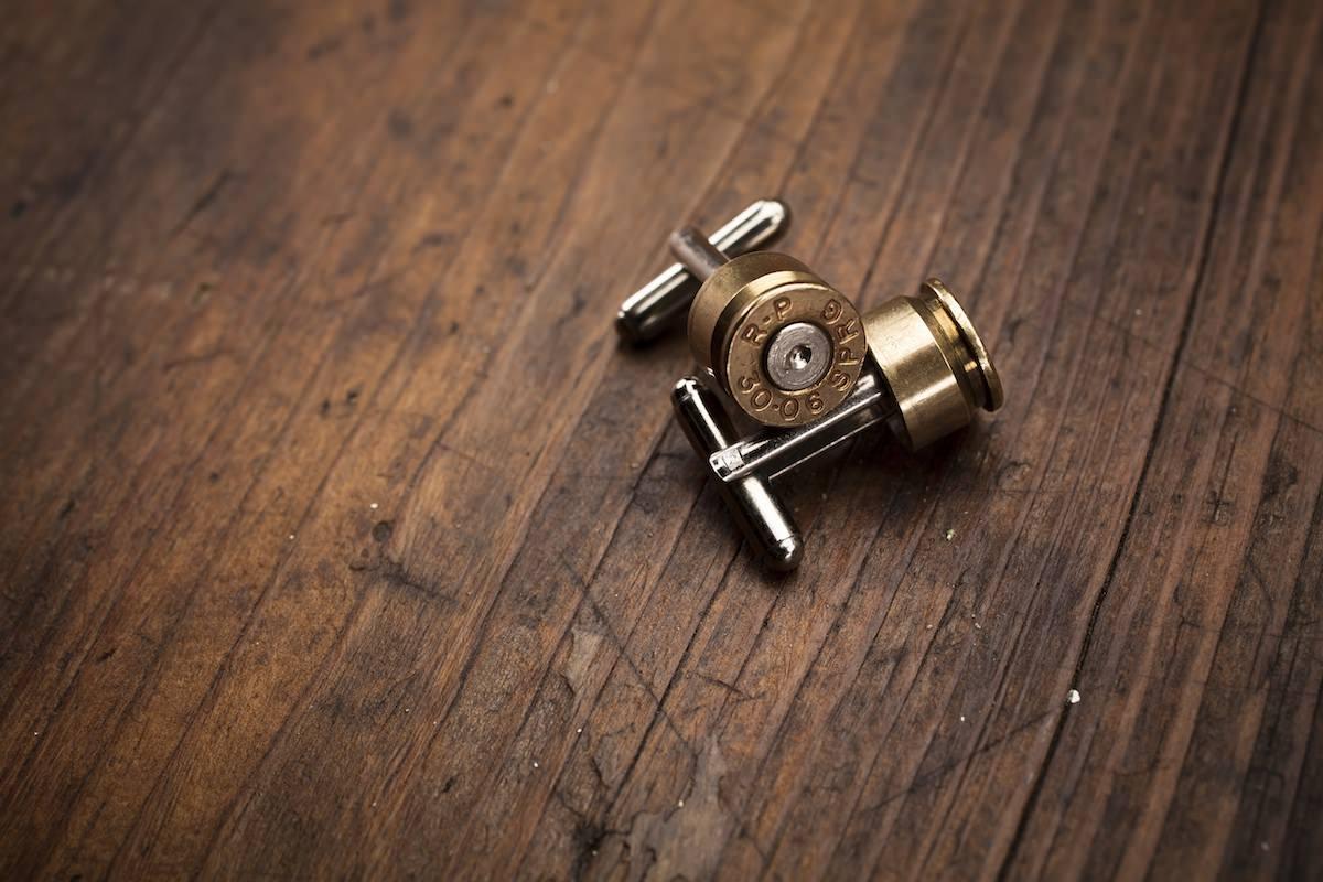 Bullet Cufflinks Bullet Cufflinks