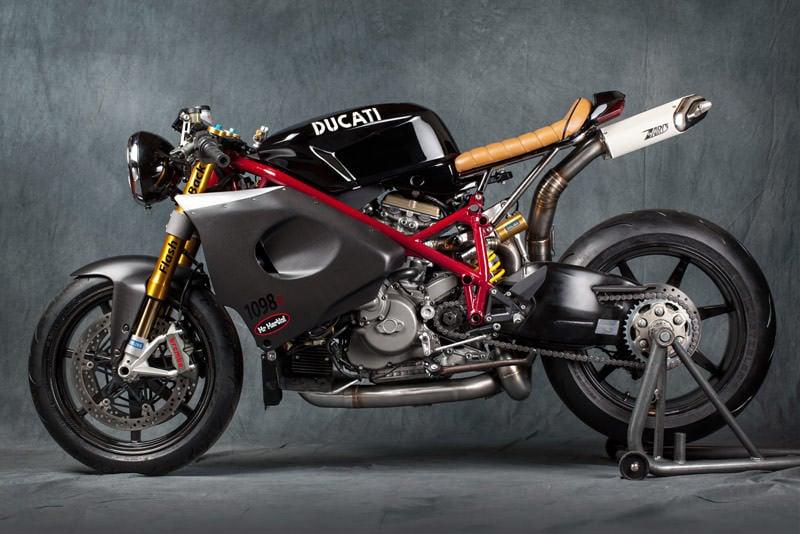 Custom Ducati Motorbike
