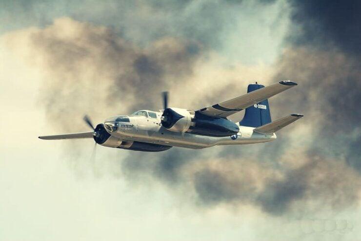 Douglas A 26 Invader NX26BP Bomber 740x493 Douglas A 26 Invader