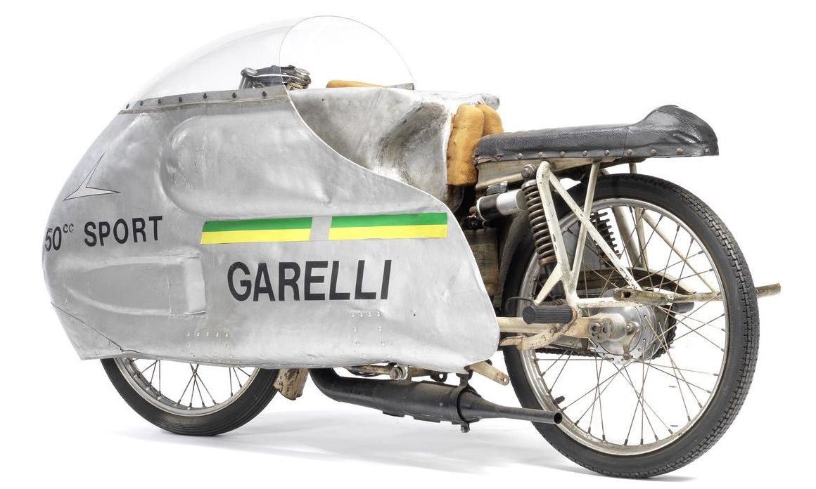Garelli Dustbin Motorcycle