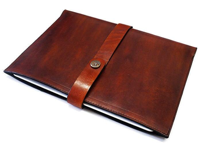 Leather Apple iPad Sleeve