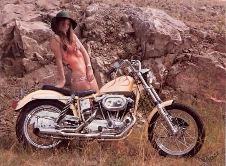 Motorcycle Girl 450x330 - Bikini Biker