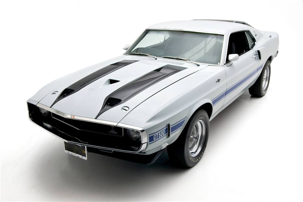Shelby GT500 1 1970 Shelby GT500 Mustang Fastback